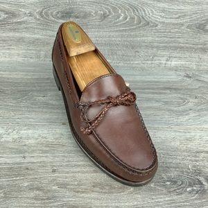 Allen Edmonds Colebrook Brown Loafers